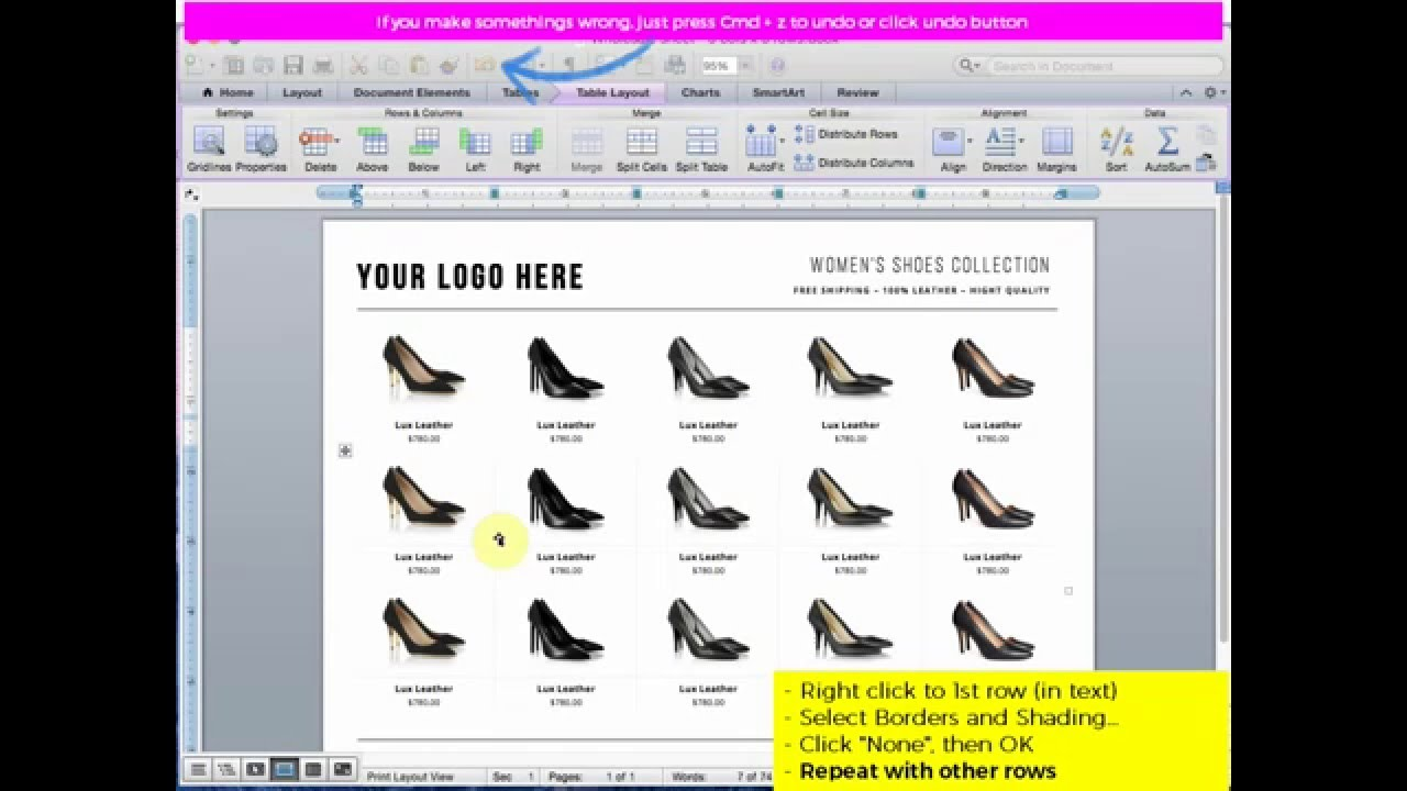 How To Customize Wholesale Linesheet Template Product Sheet YouTube - Wholesale line sheet template