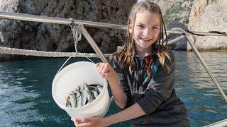 Морская рыбалка и путешествия с подружкой Светой
