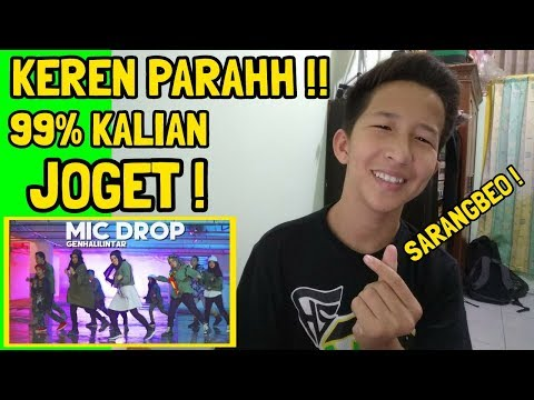 REACTION - BTS (방탄소년단) - MIC Drop Gen Halilintar (Cover) (Steve Aoki Remix) 11 Kids + Mom