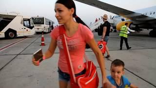 Опасный полет на Самолете! ПОДАРОК на день рождение, утром ХЛОПУШКИ а вечером уже в  ЕГИПЕТ(, 2017-09-14T14:04:32.000Z)