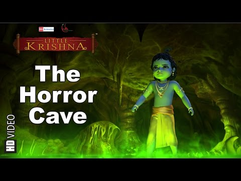 Krishna and The Horror Cave | HD Clip | Hindi