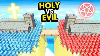 HOLY CHURCH vs EVIL CHURCH IN Ancient Warfare 3 (Ancient Warfare 3 Funny Gameplay)
