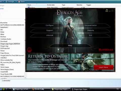 Installing Mods for Dragon Age Origins