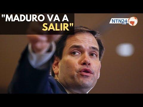 """Marco Rubio: """"No hay duda de que Maduro va a salir"""""""