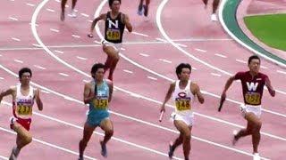 陸上 インカレ Men 4x400mR 決勝Final 第82回日本学生陸上競技 2013.9.8