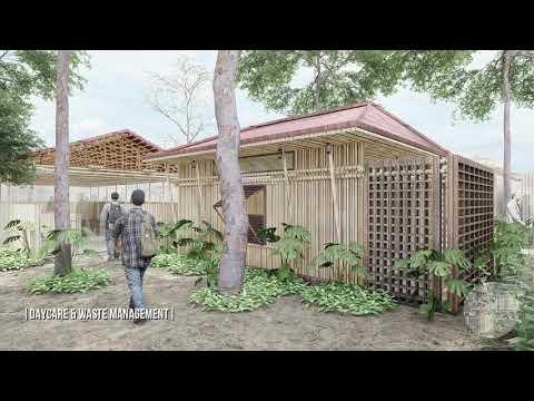 Urban Design At Korail Slum | Banani | 3D Animation | Aust Architecture | 60 fps