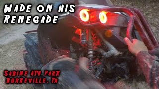 Wade On His Renegade At Sabine ATV Park thumbnail