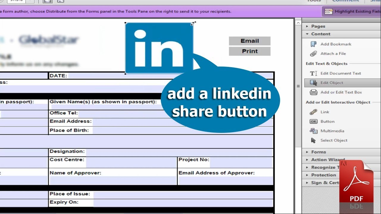 how to add youtube video to linkedin