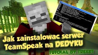 Jak zainstalować serwer TeamSpeak3 na serwerze dedykowanym