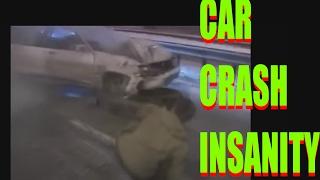 crazy car crashes again - Car Crash Too Shocking - Car Crash Compilation - insane, shock crashes
