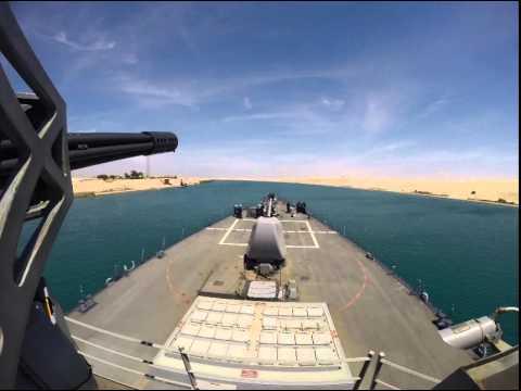 Suez Transit Timelapse