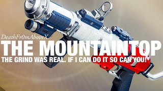 How to Get The Mountaintop Solo - I Did it and so can you!