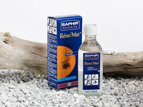 Очиститель для обуви Reno Mat – Saphir, 500мл.