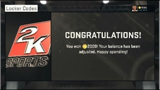 NBA 2K15 Next Gen Locker Codes - Free 2,000K VC! (2K) PS4 & Xbox One Thumbnail