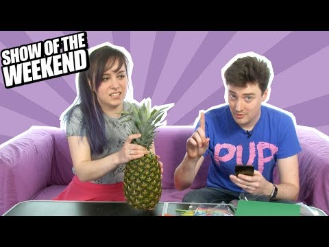 Show of the Weekend: Nintendo Labo and Ellen's Pineapple Papercraft Challenge