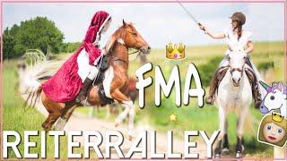 FMA REITERRALLEY ✮ Rätselralley im Mittelalterkleid am Pferd ♥ Game of thrones :)