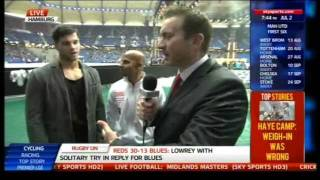 Ryan Aston/Dave Coldwell Preview Haye vs Klitschko