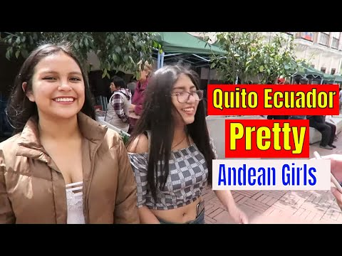 Pretty Andean Girls Smile A Lot And Hip Hop In Zona Centro, Quito Ecuador