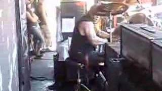 Inferno drum solo at NJ Ozzfest