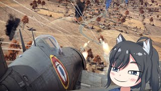 War Thunder: Real players use rockets agains CAS