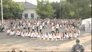 Копия видео Флешмоб Болград Одесская область 27 июня 2015 года(27 июня 2015 года в Болграде Одесской области отпраздновали