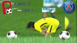 ¡¡Noo Cavani !! 😱 Tremendo Blooper de Cavani PSG vs Saint-Etienne (1-1)