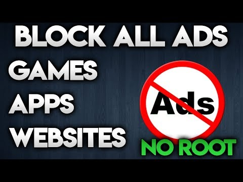 BLOCK ADS ON ANY ANDROID DEVICE - NO ROOT REQUIRED