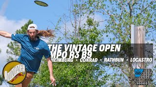 2021 Vintage Open | Final RD B9 | Heimburg, Conrad, Rathbun, Locastro | GKPRO Disc Golf