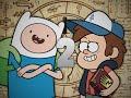 Finn the Human vs Dipper Pines 2. Epic Rap Battles of Cartoons Season 3.
