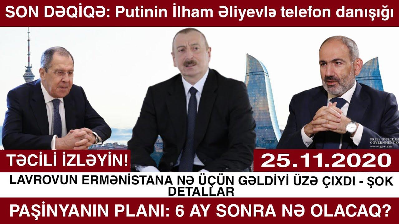 Yeni vacib xəbərlər 25.11.2020, (  Əhaliyə ŞAD xəbər:İlham Əliyev uşaqlarla bağlı fərman imzaladı )