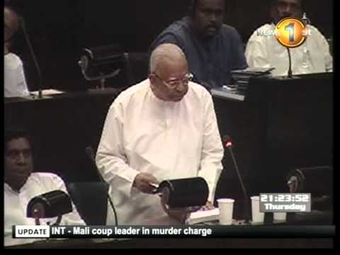 Newsfirst_Tamil National Alliance Parliamentary Group Leader R.Sampanthan commented on LLRC