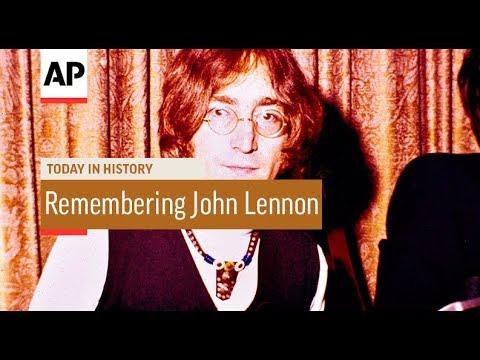 Remembering John Lennon - 1980   Today In History   8 Dec 17