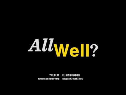 AllWell? 2017 - Aalto University's study well-being