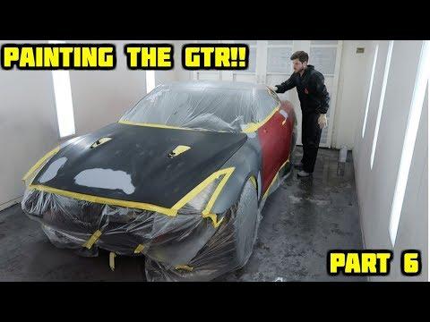 Rebuilding a Wrecked 2010 Nissan GTR Part 6