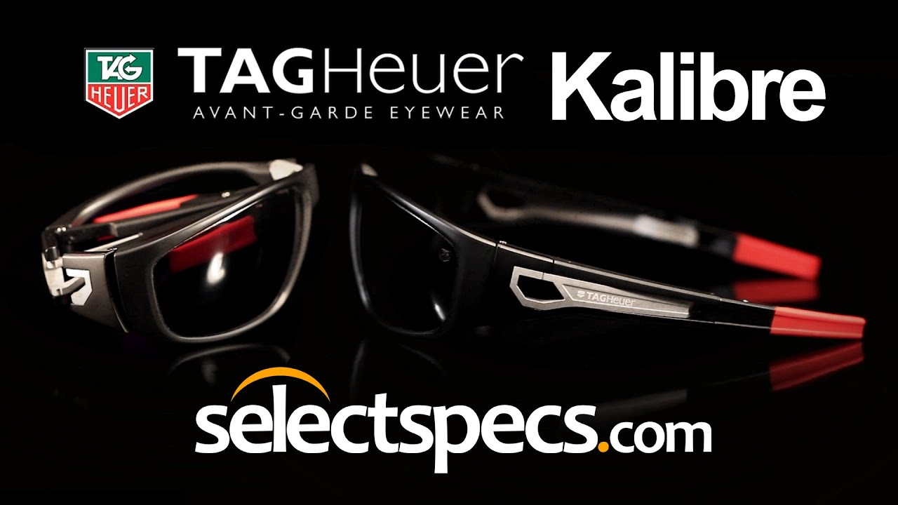 Tag Heuer Kalibre 9401 Matte Black/Red Sunglasses with SelectSpecs ...