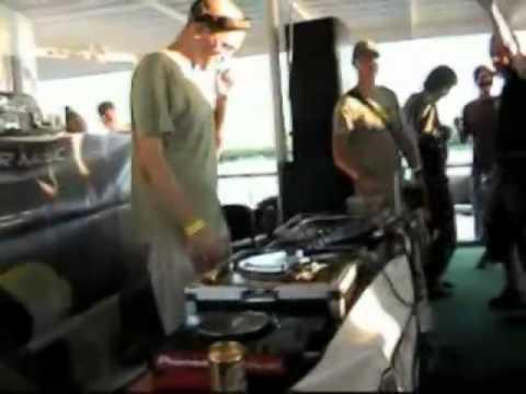 Party on the boat - Romania, Sulina chanel, Danube Delta