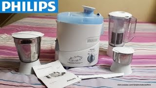 Philips HL1632 Juicer Mixer Grinder Unboxing & Installation |#RCTech| India