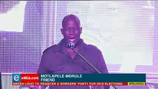 Mo'Molemi pays tribute to HHP at his funeral
