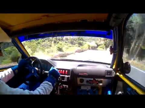 Zagaris Giannis in car 106 A/6 Gr.a Kimi Hillclimb 2014