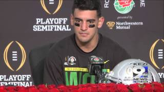 Oregon Wins 2015 Rose Bowl, Post Game Press Conference