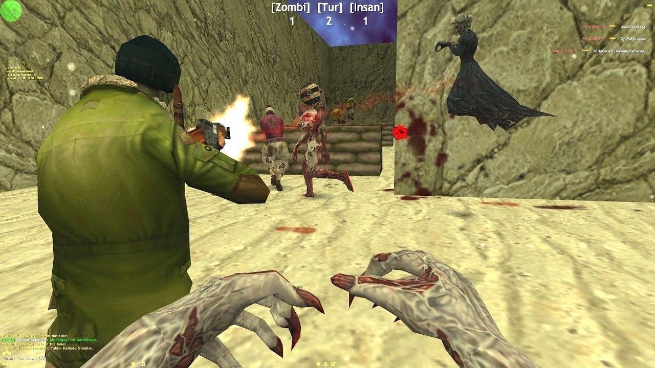 Counter-Strike: Zombie Escape Mod - ze_Terrain_Back_dp on Dark Professional