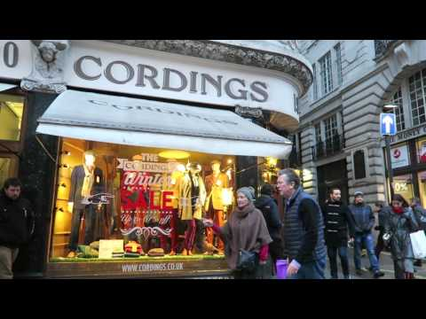 January Sales Shopping - Cordings of Piccadilly London