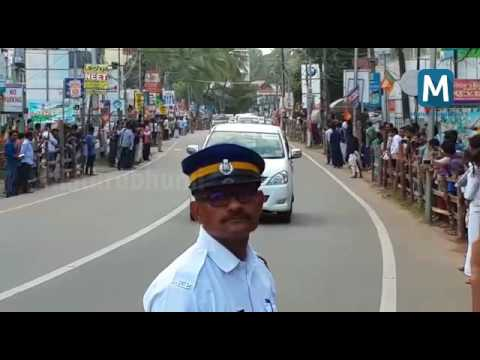 Prime Minister Narendra Modi convoy, Calicut