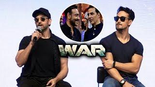 Ajay Devgn और Akshay Kumar के Comment पर बोले Hrithik Roshan | WAR Success Celebration