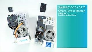 SINAMICS V20/G120 Smart Access Module für Umrichter - Tutorial Teil 1