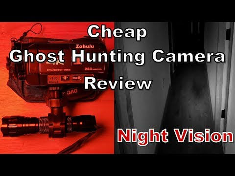 Cheap Night Vision Camcorder For Ghost Hunting: Zohulu, Ordro, Ancter