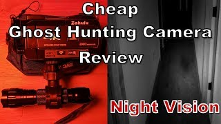 I decided to review a cheap camcorder that advertises infrared night vision see how well the ir mode works.