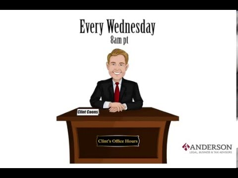 Clint's Office Hours 1-20-16