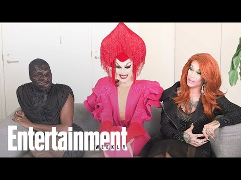 'RuPaul's Drag Race' Champ Sasha Velour Crashes Season 10 Interview | Entertainment Weekly