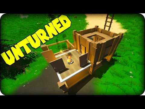 Unturned gameplay zombie survival game how to make a for Zombie crafting survival games